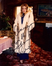 "Sharon Stone in Lynx and Fox coat by Anna Nateece, used in film ""Casino"""